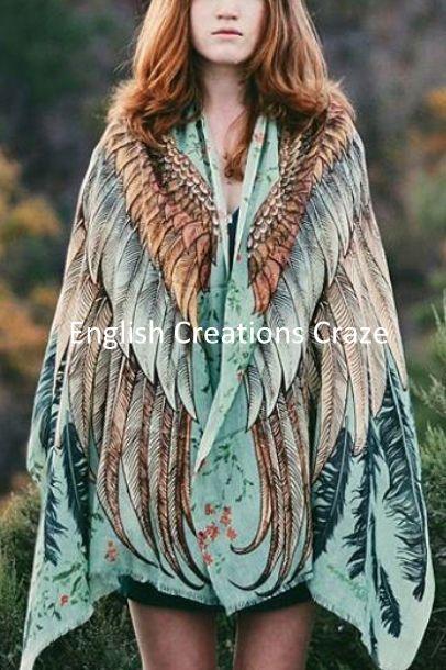 Digitale gedrukte sjaal